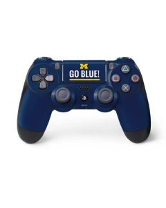 University of Michigan Go Blue PS4 Controller Skin
