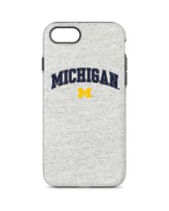 University of Michigan Heather Grey iPhone 8 Pro Case