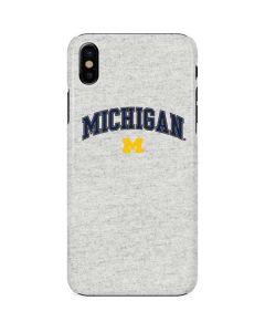 University of Michigan Heather Grey iPhone X Lite Case