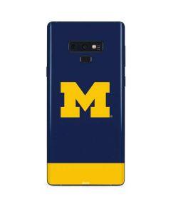 University of Michigan Logo Galaxy Note 9 Skin