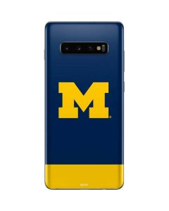 University of Michigan Logo Galaxy S10 Plus Skin
