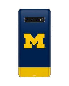 University of Michigan Logo Galaxy S10 Skin