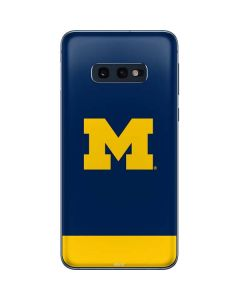 University of Michigan Logo Galaxy S10e Skin