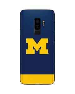 University of Michigan Logo Galaxy S9 Plus Skin
