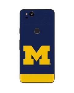 University of Michigan Logo Google Pixel 2 Skin
