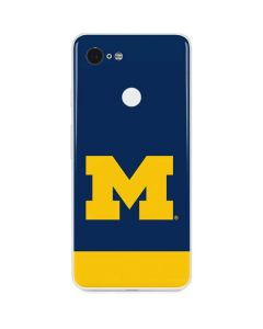 University of Michigan Logo Google Pixel 3 Skin