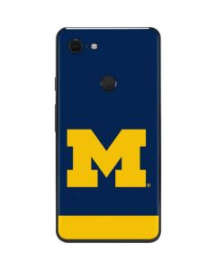University of Michigan Logo Google Pixel 3 XL Skin