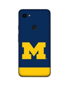 University of Michigan Logo Google Pixel 3a XL Skin