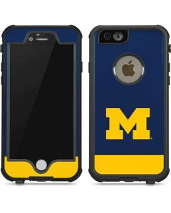 University of Michigan Logo iPhone 6/6s Waterproof Case