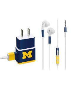 University of Michigan Logo Phone Charger Skin