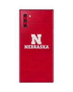 University of Nebraska Cornhuskers Galaxy Note 10 Skin