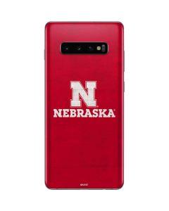 University of Nebraska Cornhuskers Galaxy S10 Plus Skin