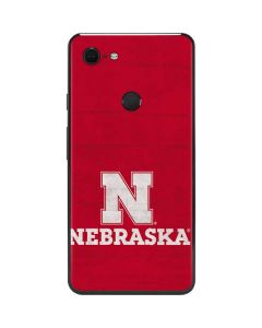University of Nebraska Cornhuskers Google Pixel 3 XL Skin