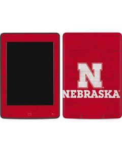 University of Nebraska Cornhuskers Amazon Kindle Skin