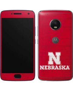 University of Nebraska Cornhuskers Moto G5 Plus Skin