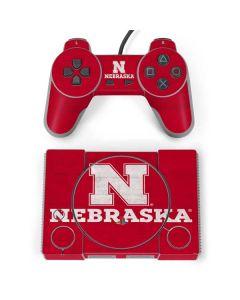 University of Nebraska Cornhuskers PlayStation Classic Bundle Skin