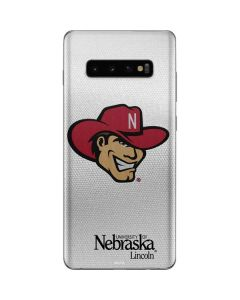 University of Nebraska Logo Galaxy S10 Plus Skin