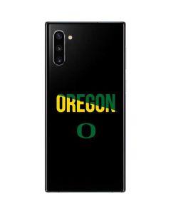 University of Oregon Bold Galaxy Note 10 Skin