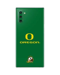 University of Oregon Galaxy Note 10 Skin