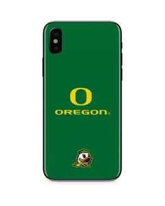 University of Oregon iPhone X Skin