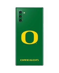 University of Oregon Mesh Galaxy Note 10 Skin