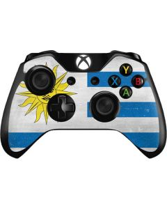Uraguay Flag Distressed Xbox One Controller Skin