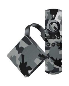 Urban Camouflage Black Amazon Fire TV Skin