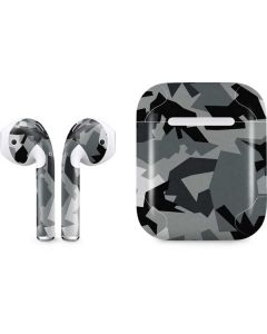 Urban Camouflage Black Apple AirPods Skin
