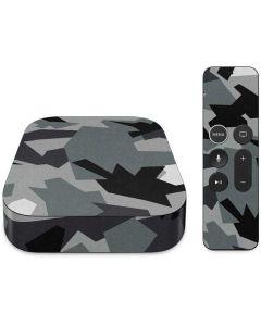 Urban Camouflage Black Apple TV Skin