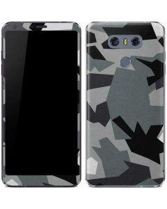 Urban Camouflage Black LG G6 Skin