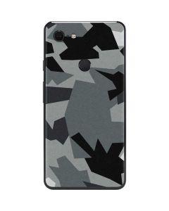 Urban Camouflage Black Google Pixel 3 XL Skin