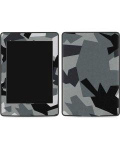 Urban Camouflage Black Amazon Kindle Skin