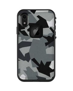 Urban Camouflage Black LifeProof Fre iPhone Skin