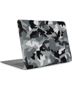Urban Camouflage Black Apple MacBook Air Skin