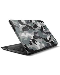 Urban Camouflage Black HP Notebook Skin