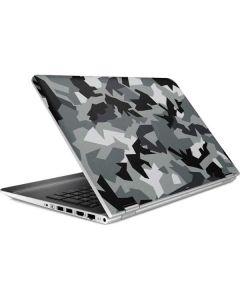 Urban Camouflage Black HP Pavilion Skin