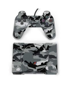 Urban Camouflage Black PlayStation Classic Bundle Skin