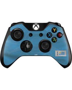Uruguay Soccer Flag Xbox One Controller Skin