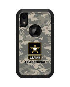 US Army Digital Camo Otterbox Defender iPhone Skin