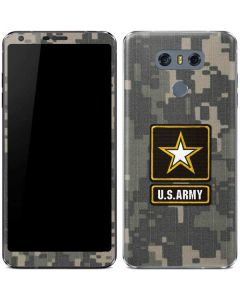 US Army Logo on Digital Camo LG G6 Skin