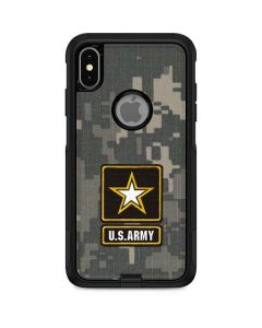 US Army Logo on Digital Camo Otterbox Commuter iPhone Skin