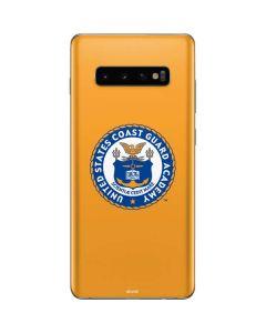 US Coast Guard Academy Yellow Galaxy S10 Plus Skin