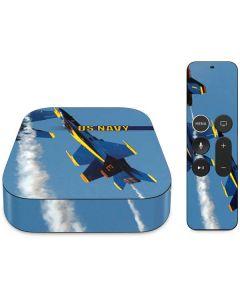 US Navy Blue Angels Apple TV Skin