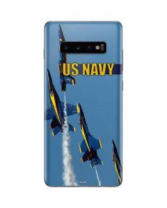 US Navy Blue Angels Galaxy S10 Plus Skin