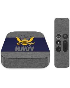 US Navy Grey Apple TV Skin