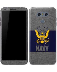 US Navy Grey LG G6 Skin