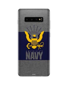 US Navy Grey Galaxy S10 Plus Skin