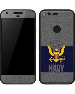 US Navy Grey Google Pixel Skin