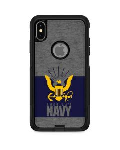 US Navy Grey Otterbox Commuter iPhone Skin