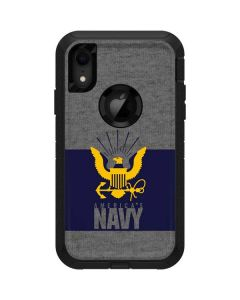 US Navy Grey Otterbox Defender iPhone Skin